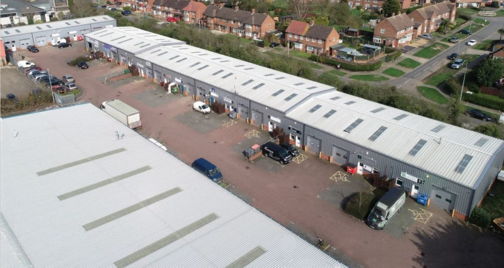 Multi-let industrial estate in Ipswich sold